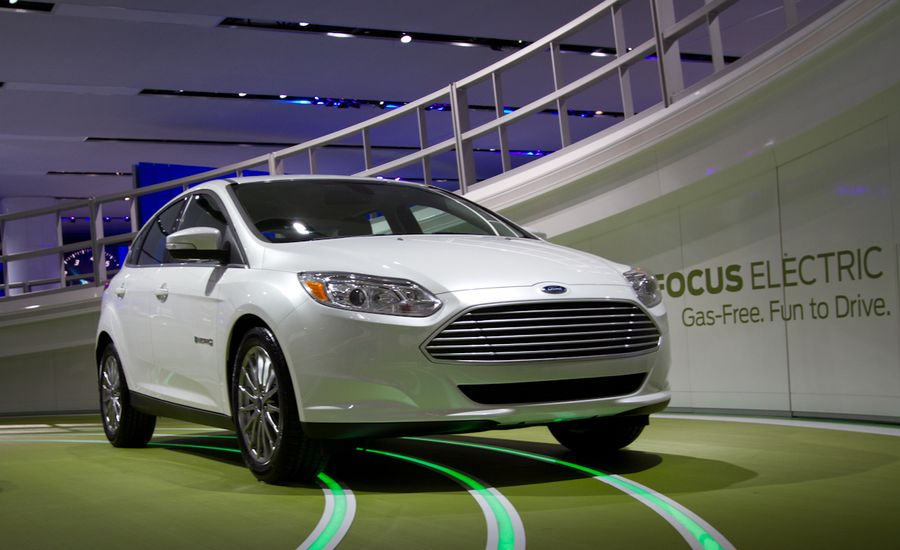 2012 Ford Focus Electric Official Photos and Info