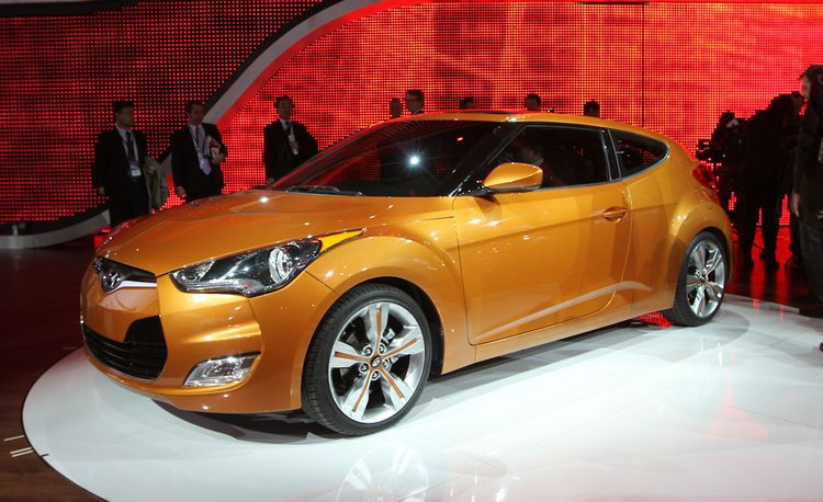 2012 Hyundai Veloster Official Photos and Info