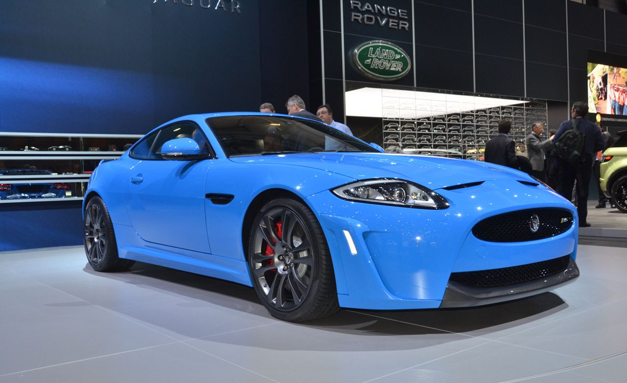 2012 Jaguar XKR-S Official Photos and Info