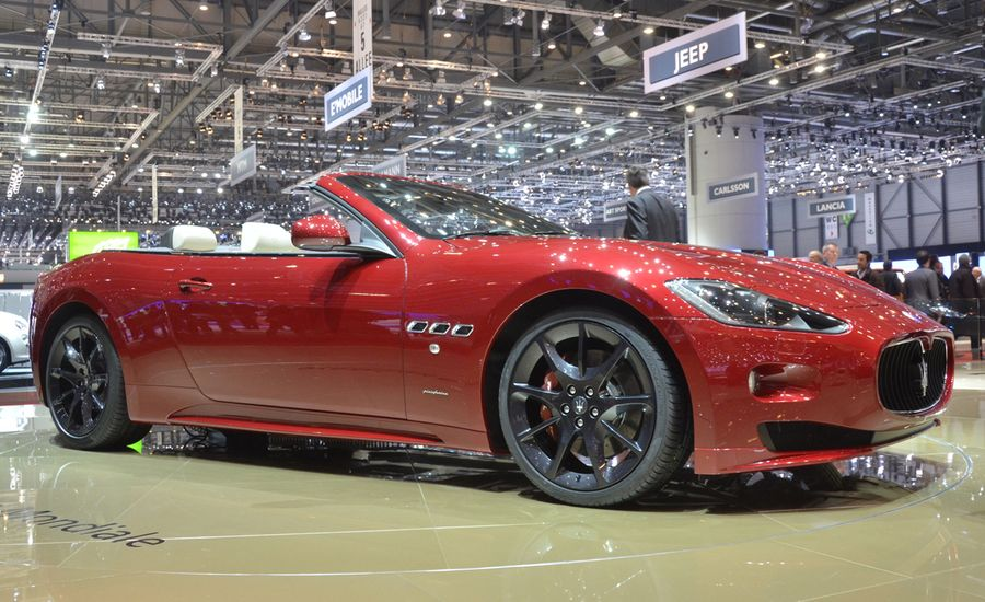 2012 Maserati GranTurismo Convertible Sport Official Photos and Info