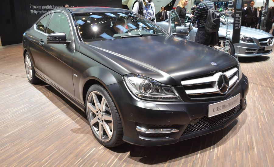2012 Mercedes-Benz C-class Coupe Official Photos and Info