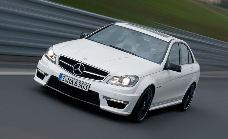 2012 Mercedes-Benz C63 AMG Official Photos and Info