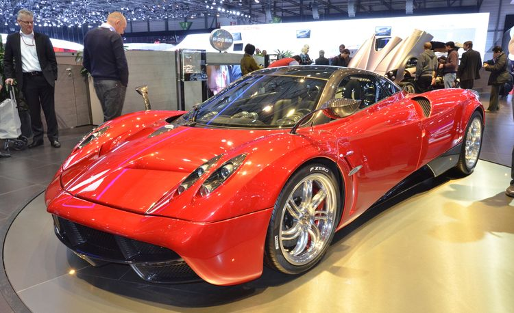 2012 Pagani Huayra Official Photos and Info