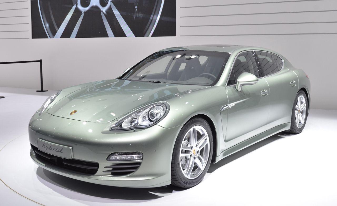 2012 Porsche Panamera S Hybrid Official Photos and Info