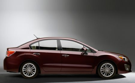 2012 Subaru Impreza Shown Ahead of NY Debut, 36 mpg Highway Claimed