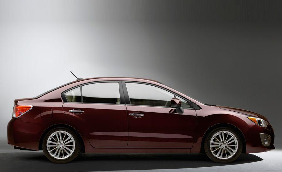 2012 Subaru Impreza Shown Ahead of NY Debut, 36 mpg Highway Claimed