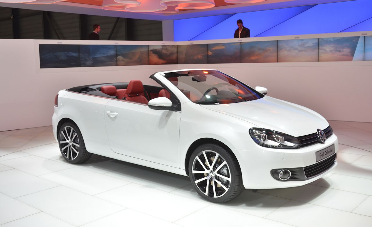 2012 Volkswagen Golf Cabriolet Debuts – News – Car and Driver