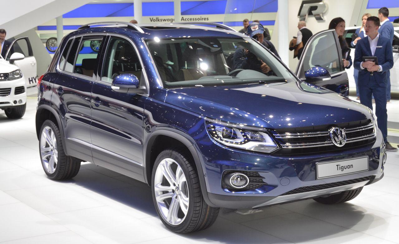2012 Volkswagen Tiguan Official Photos and Info
