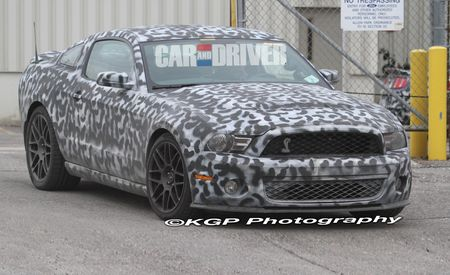 2013 Ford Mustang Shelby GT500 to Have Camaro ZL1–Slapping 600-Plus Horsepower