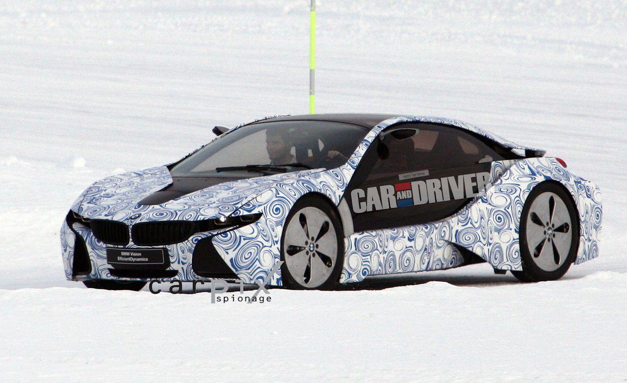 2014 BMW i3 and i8 Spy Photos