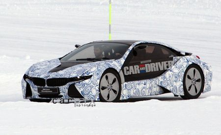 2014 BMW i3 and i8 Spy Photos