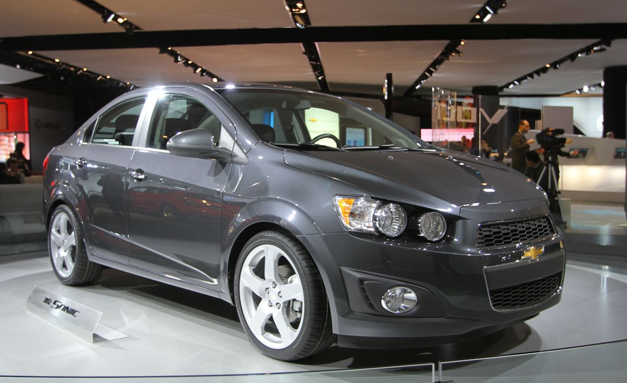 2012 Chevrolet Sonic Official Photos and Info