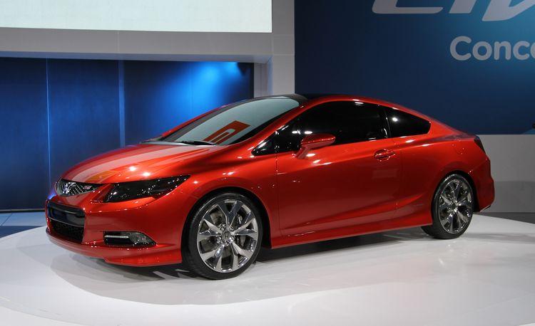 Honda Civic Si Coupe and Civic Sedan Concepts