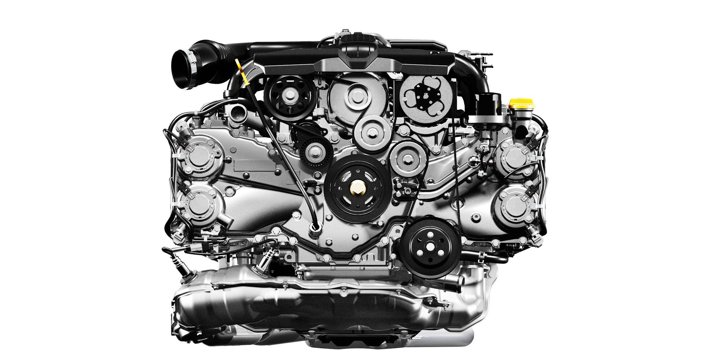 Subaru Fb Series Engine Subaru Flat Four Engines Car And Driver Photo S Original