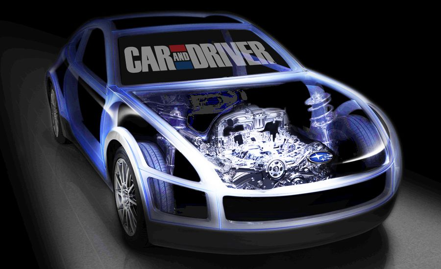 Subaru Teases Boxer-Powered, RWD Sports Car Ahead of Geneva Show