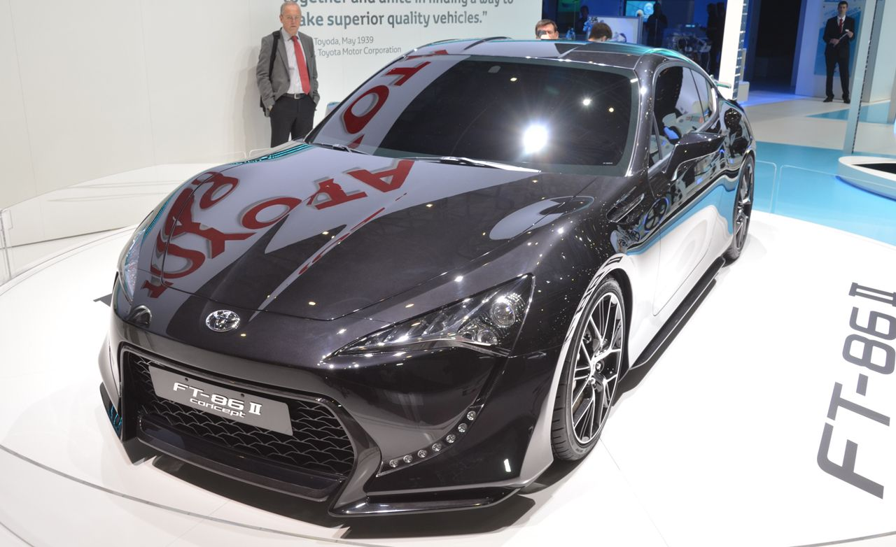 Toyota Ft 86 Ii Concept News Car And Driver