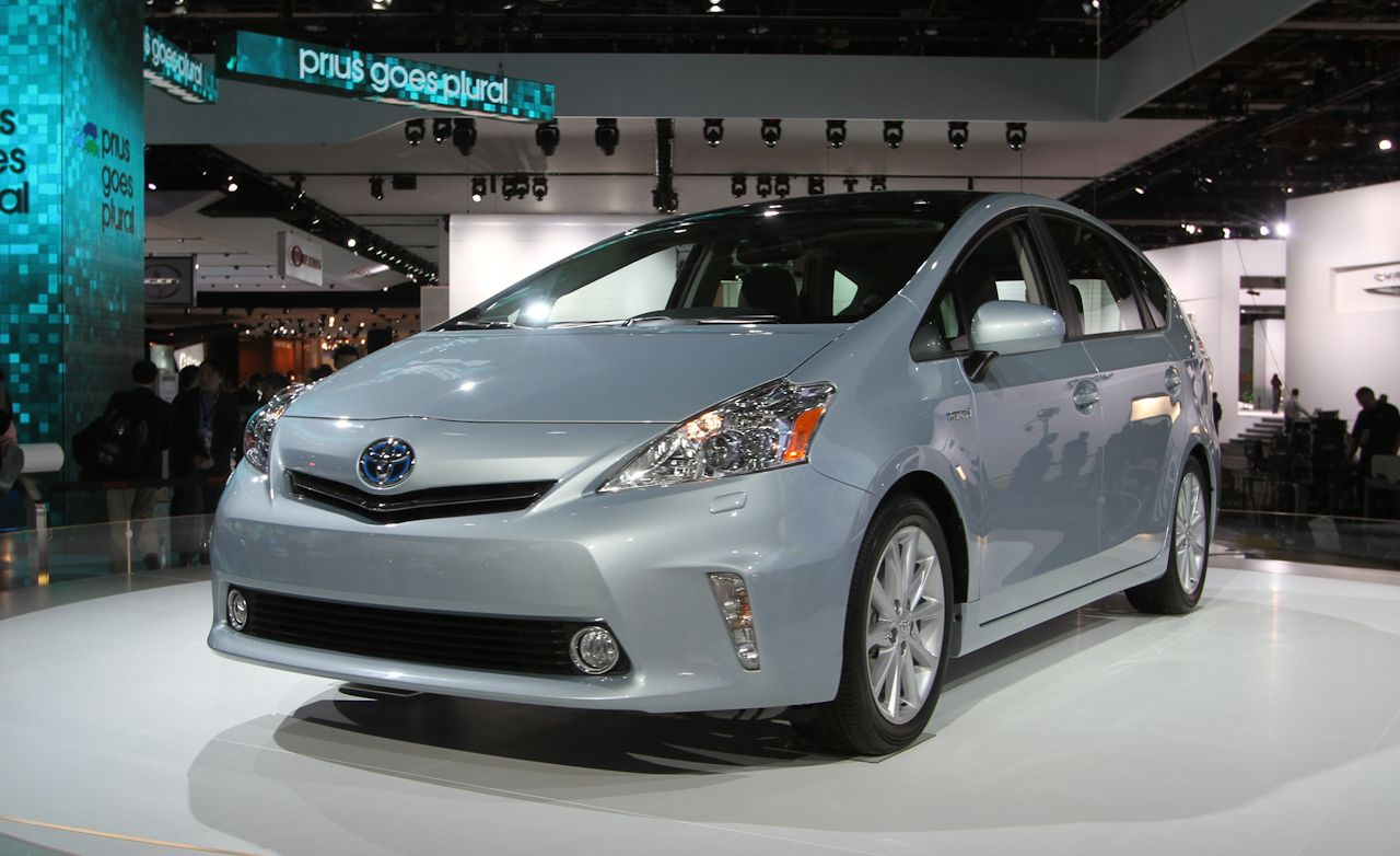 2012 Toyota Prius V Hybrid Official Photos and Info