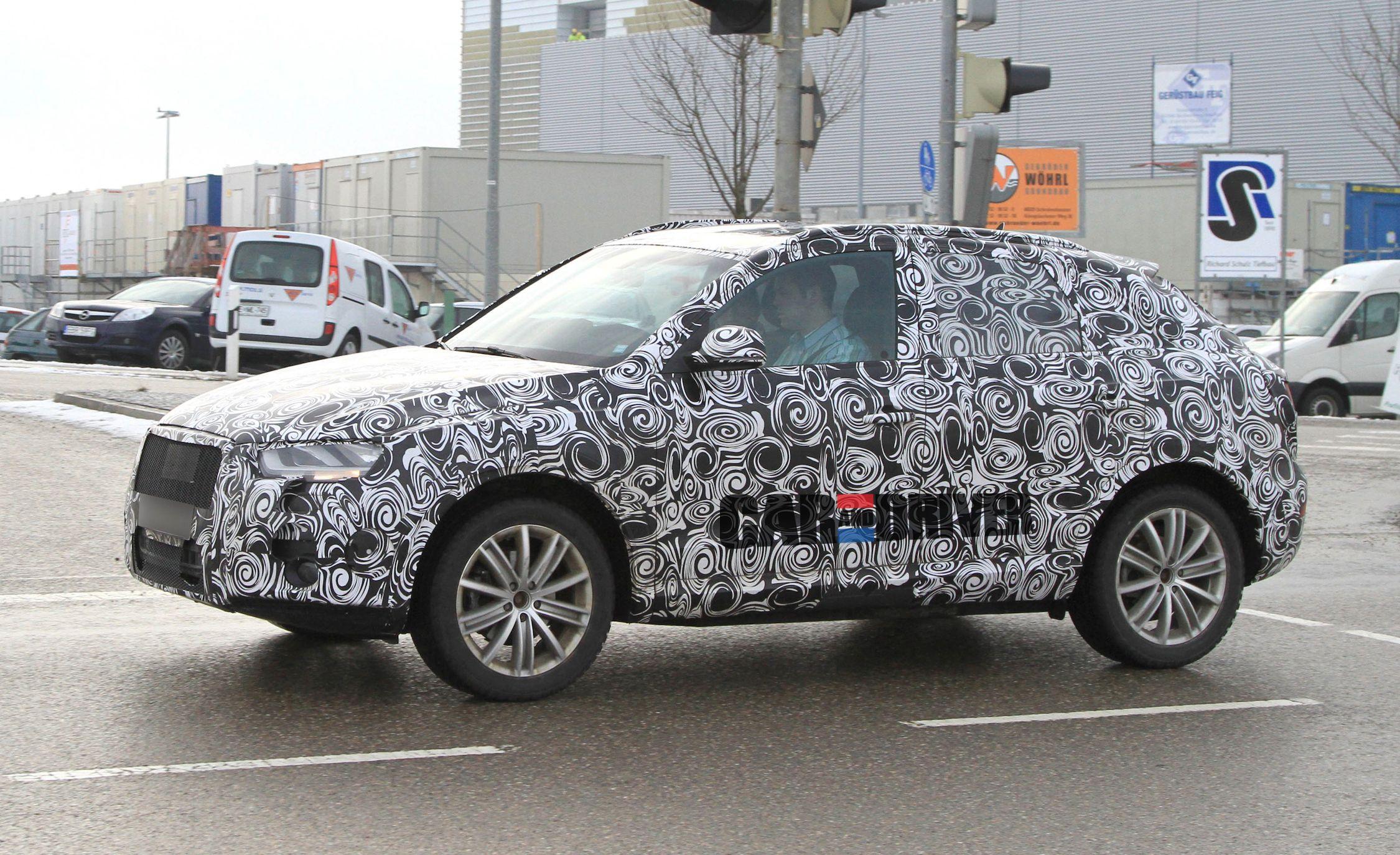 2012 Audi Q3 Spy Photos