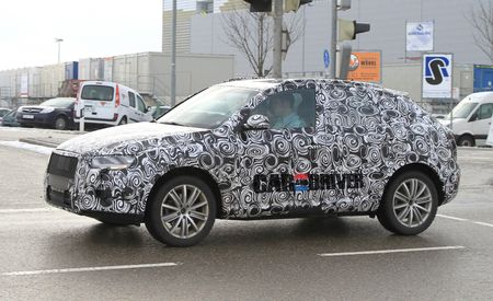 2012 Audi Q3 Spy Photos