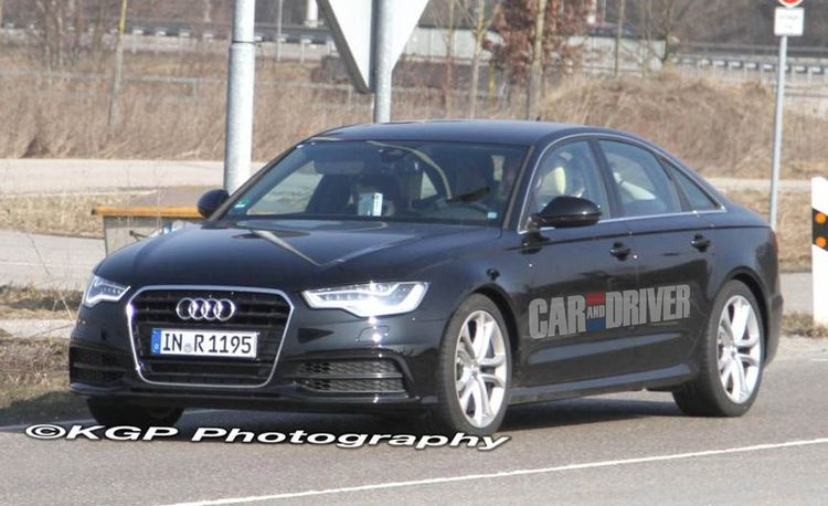 2012 Audi S6 Spy Photos