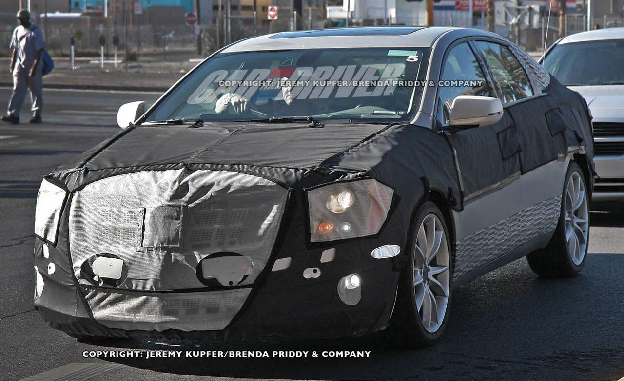 2012 Cadillac XTS / ETS Spy Photos