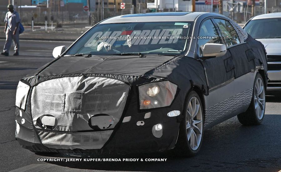 2012 cadillac xts ets spy photos future cars car and driver 2012 cadillac xts ets spy photos sciox Gallery