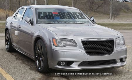 2012 Chrysler 300C SRT8 Spy Photos