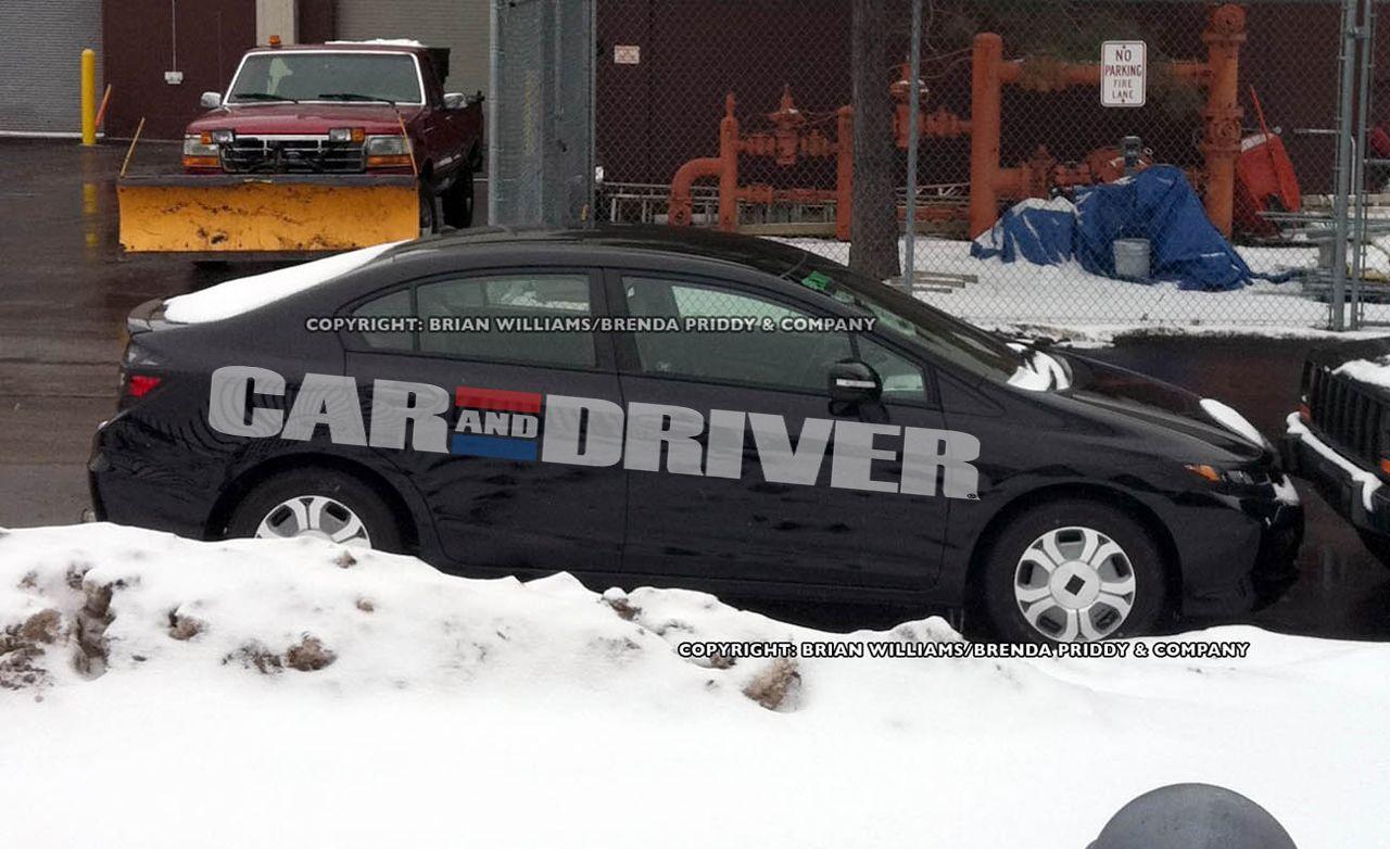 2012 Honda Civic / Civic Hybrid Spy Photos