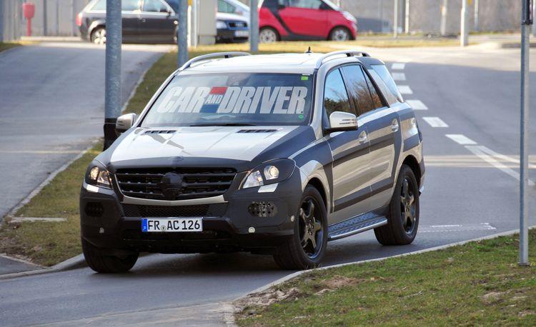 2012 Mercedes-Benz ML350 / ML550 / ML63 AMG Spy Photos
