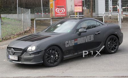 2012 Mercedes-Benz SLK55 / SLK63 AMG Spy Photos