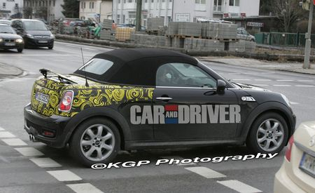 2012 Mini Coupe and Roadster Spy Photos