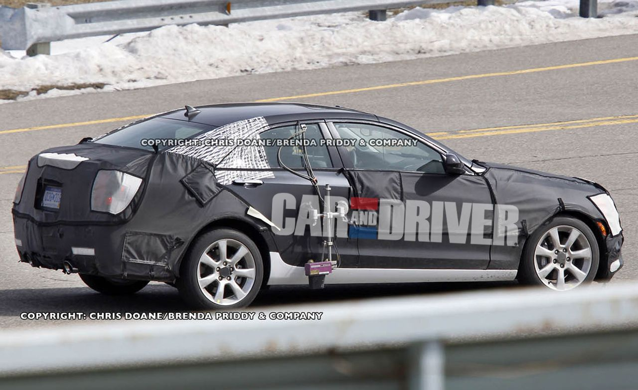 2013 Cadillac ATS Spy Photos