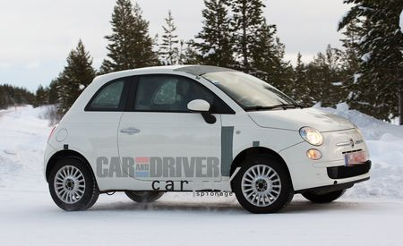 2013 Fiat 500 AWD Spy Photos