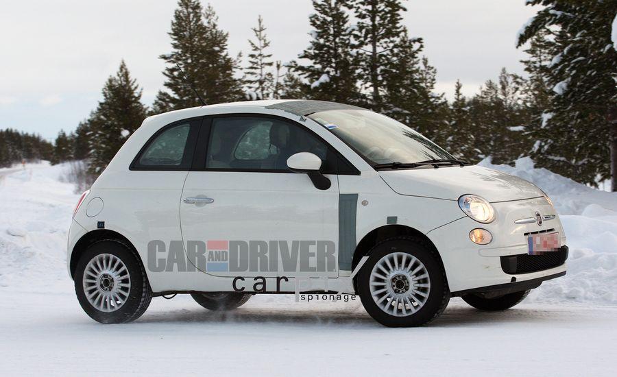 2013 Fiat 500 AWD Spy Photos