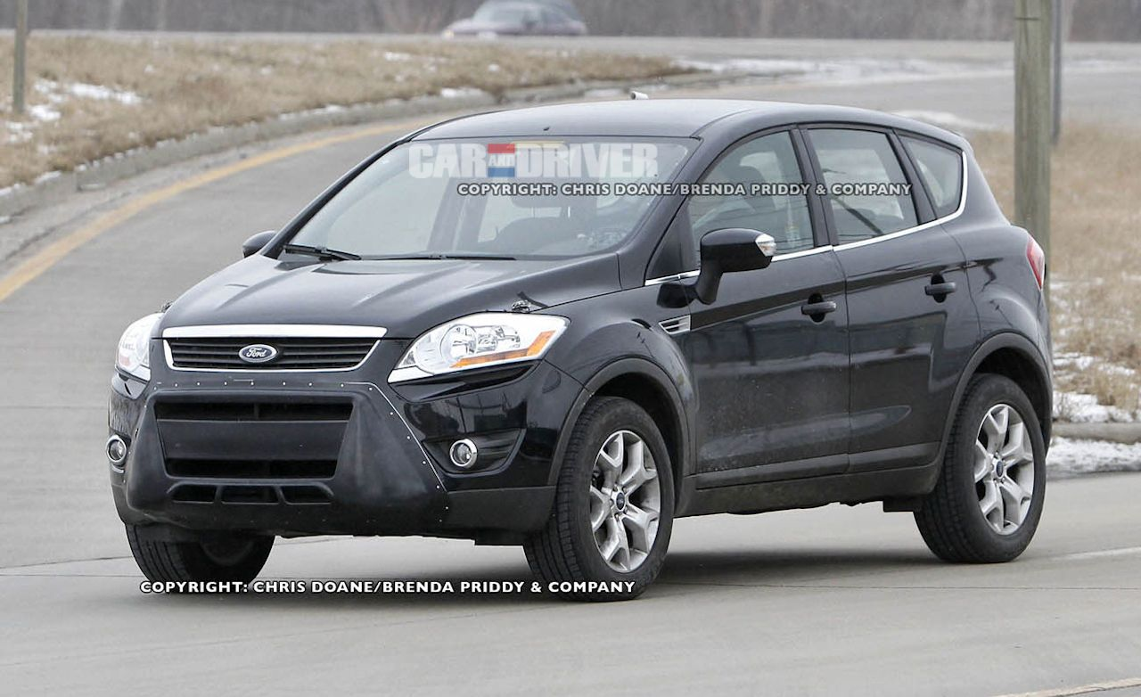 2013 Ford Escape Spy Photos