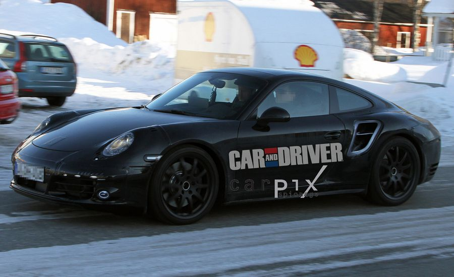 2013 Porsche 911 Turbo Spy Photos