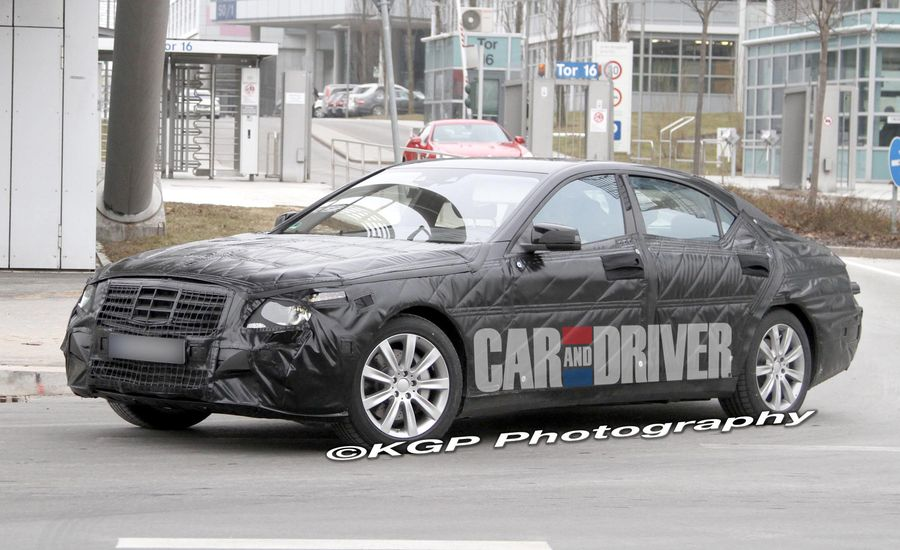 2014 Mercedes-Benz S-class Spy Photos