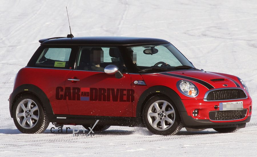 2014 Mini Cooper Hybrid Spy Photos