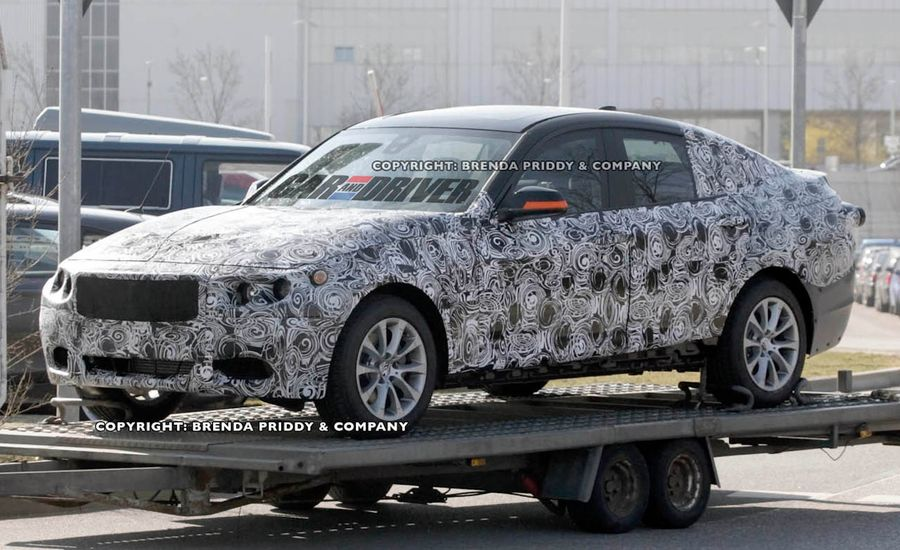 2014 BMW 3-series GT Spy Photos