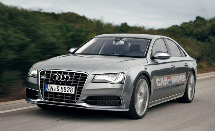 2012 Audi S8