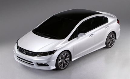 2012 Honda Civic Si White