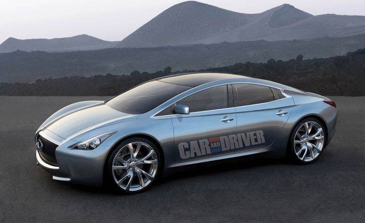 2014 Infiniti Electric Sedan