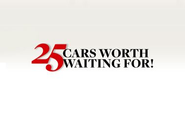 25 Cars Worth Waiting For: 2012–2015