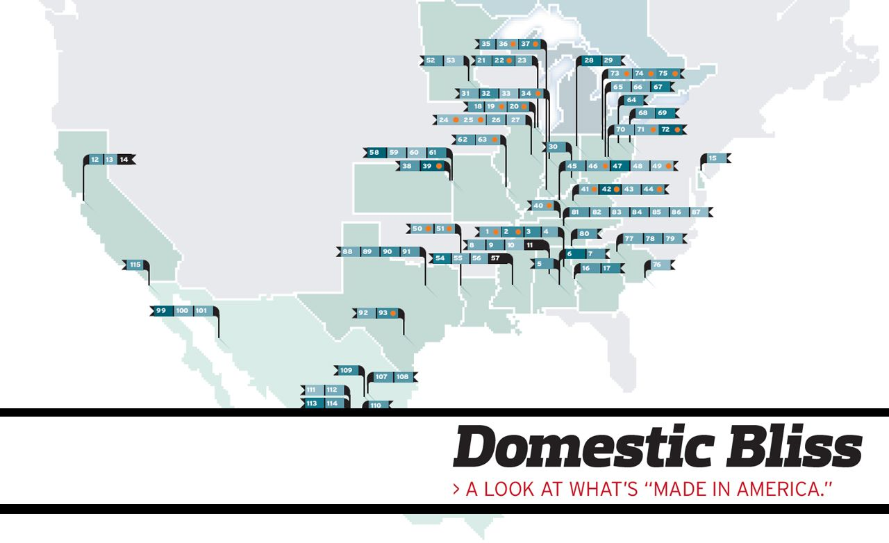 """Domestic Bliss: A Graphic Representation of What's Really """"Made in America"""""""