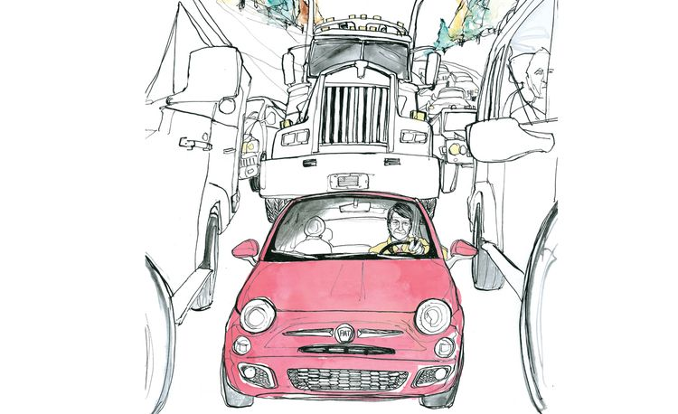 P.J. O'Rourke Goes Hunting for the Soul of the 2012 Fiat 500