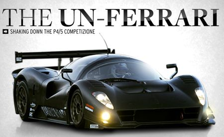 The Un-Ferrari: Shaking Down the P4/5 Competizione
