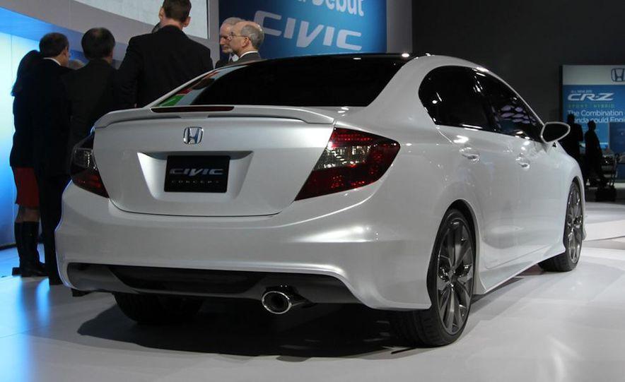 2012 Honda Civic Si coupe concept - Slide 9