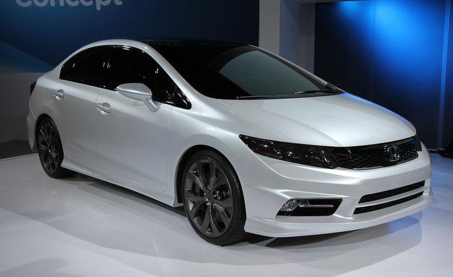 2012 Honda Civic Si coupe concept - Slide 10