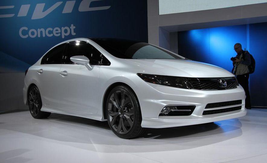 2012 Honda Civic Si coupe concept - Slide 11