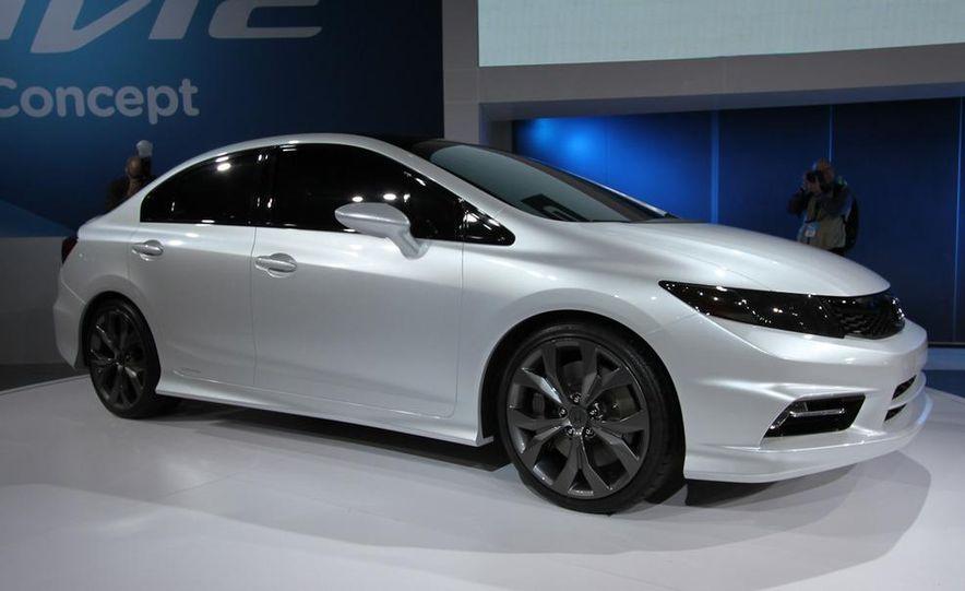 2012 Honda Civic Si coupe concept - Slide 12